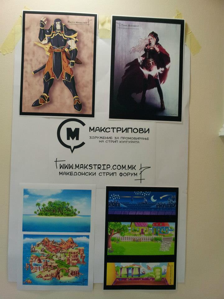 Мини изложба на Global Game Jam Macedonia!